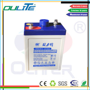 Rechargeable VRLA Battery Deep Cycle Battery 2V 100ah pictures & photos