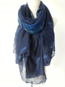 Flower Printing Polyesyer Scarf for Women Ladies Shawl Fashion Accessories pictures & photos