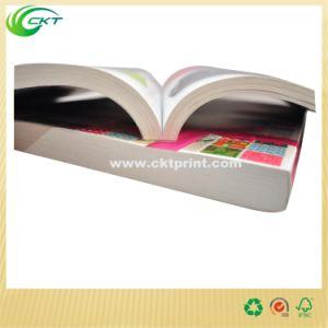 Brillante Color Cmyk Encolado/Fresado Imprimir Libros (CKT-BK-643)