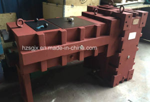 Conjoined Double Screw Gearbox Plastic Extruder pictures & photos