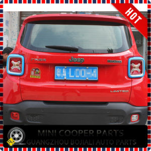 Auto Accessory ABS Material Blue Style Rear Lamp Cover for Renegade Model (2PCS/SET) pictures & photos