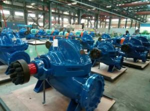 HS-Type High Efficiency Horizontal Double Suction Centrifugal Split Casing Pump pictures & photos