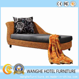 PE Rattan Wicker Chaise Lounge for Outdoor Beach pictures & photos