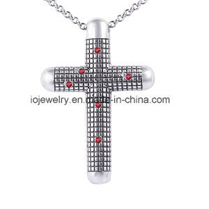 Surgical Steel Big Cross Pendant Necklace pictures & photos