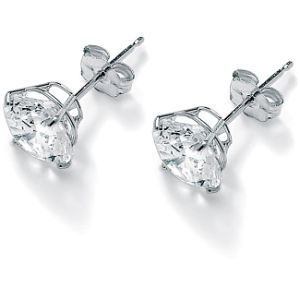 Fashion Crystal Round Ear Stud Earring for Female pictures & photos