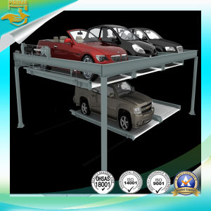 2 Layer Automatic Parking Lift pictures & photos
