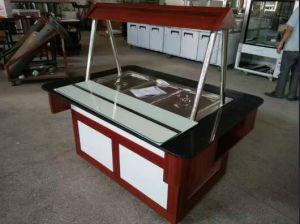 Ce Certificate Buffet Showcase Commercial Restaurant Hotel Fruit Salad Freezer/Bar pictures & photos