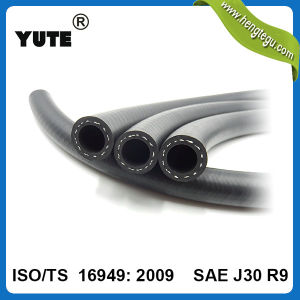 Yute Professional Braided Fiber ISO Approved 14mm Fuel Hose pictures & photos