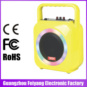 Feiyang/Temeisheng Mini Rechargeable Bluetooth Speaker with Colourful LED Light --F105s pictures & photos