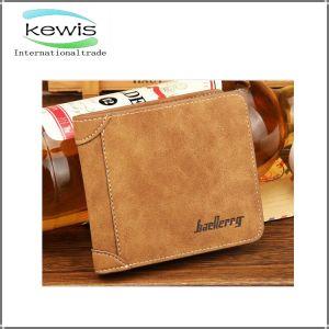 Carbon Fiber Genuine Leather Short Wallet pictures & photos