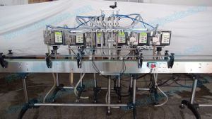 Six Nozzles Bottle Filling Machine for Fruit Juice (GPF-600A) pictures & photos