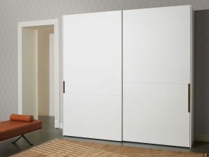 Elegant Flat Panel Sliding Wardobe pictures & photos