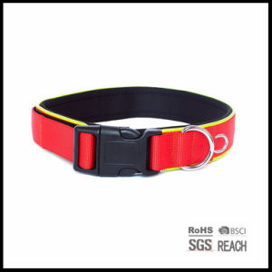 Pet Dog Supply Products Accessories 2.5cm Nylon Dog Cat Training Safety Collar pictures & photos