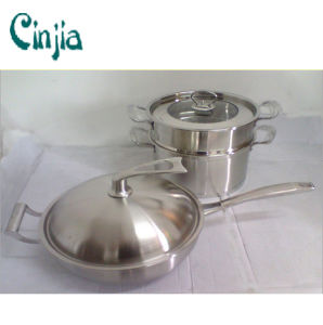 Popular Design Stainless Steel Steamer Pot for Streaming a pictures & photos