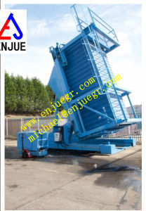 20 FT Hydraulic Container Tilter for Container Loading and Unloading pictures & photos