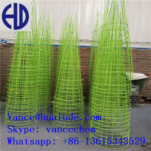 "Low Carbon 54"" Soft Black Annealed Iron Tomato Cage Wire pictures & photos"