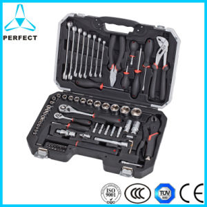 72-PC 1/4 and 1/2 Inches Dr. Mechanical Socket Tool Set pictures & photos