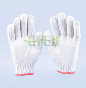 2017 Hot Sale 10gauge 800g Knitted Cotton Gloves Working Gloves (K10-B1-7) pictures & photos