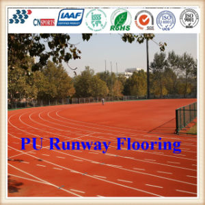 Odorless and Non-Toxic PU Running Track for Students Running exercise pictures & photos