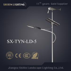 Pure White 60W LED Wind Solar Hybrid Street Lighting pictures & photos