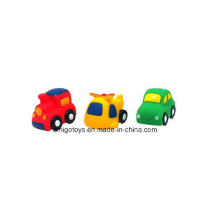 colorful 3 PCS PVC Car Toys Baby Bath Toys pictures & photos