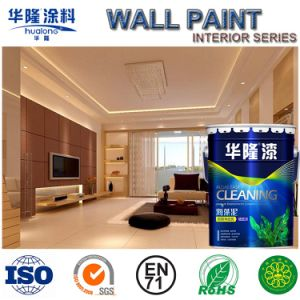 Hualong O+ Eliminate Formaldehyde Full Intelligent Interior Emulsion Wall Paint (HN-9500) pictures & photos