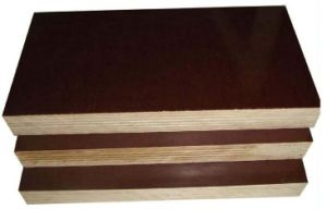 Film Faced Poplar/Birch/Hardwoods Plywood for Construction pictures & photos