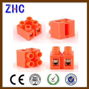 H Series 36A 600V Strip Type DIN Rail Electric Plastic Terminal Block pictures & photos