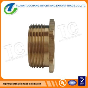 Brass Adaptor Brass Conduit Coupling Pipe Fittings pictures & photos