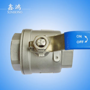 304 Stainless Steel 2PC Ball Valve Dn15 pictures & photos