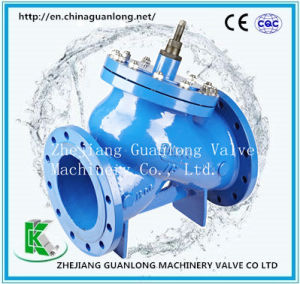 Y Type Quick Shut Non Return Check Valve (GLH41X) pictures & photos