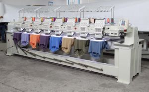 8 Heads Computer Controlled Embroidery Machine Price for Sale, Cap and Tshirt Embroidery Machine pictures & photos
