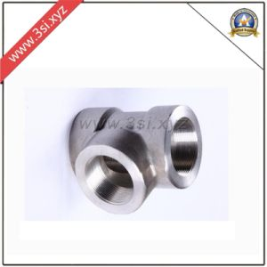 Forged Steel Threaded Equal Tee (YZF-F372) pictures & photos