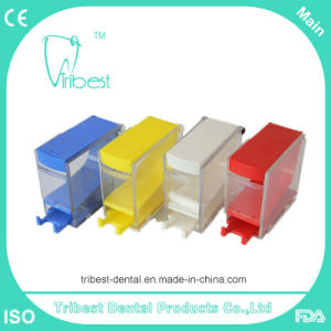 Plastic Dental Cotton Roll Dispenser with Many Color pictures & photos