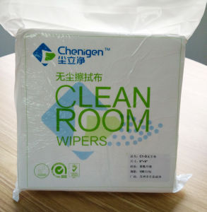 Top Good Quality ISO 5 Wiper Clean Room Wiper 100% Polyester Wiper for Industry pictures & photos