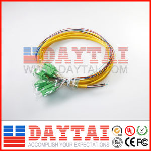 12 Core Pigtail Fiber Optic Bunch Cable Pigtail pictures & photos