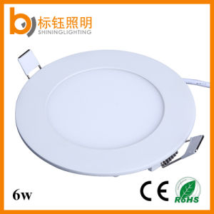 PF>0.9 6W Lamp Ultrathin Round CRI>80 Indoor Lighting LED Panel Ceiling Light pictures & photos