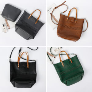 Designer Top Selling New Trendy Handbag Leisure Bag Set Hollow Crossbody Bag pictures & photos