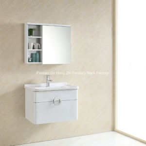 Wall Mounted White Paintting Stainless steel Bathroom Cabinet Vanity pictures & photos