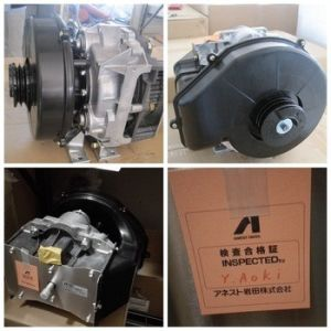 Oil Free Scroll Compressor Air Pump Dental 3.7kw Anest Iwata pictures & photos