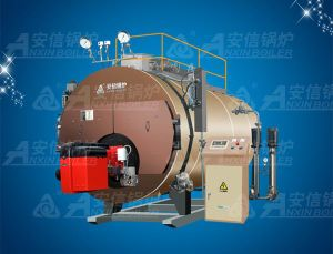 8t Industry Horizontal Gas Fired Condensing Steam Boiler