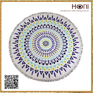 Circle Beach Towel, Microfiber Round Towel, Towel Round pictures & photos
