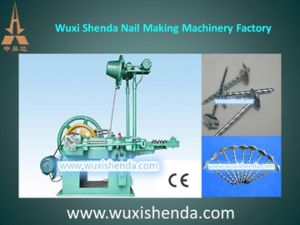 High Speed Low Noise Automatic Roofing Nail Making Machine (WZ94-4A) pictures & photos