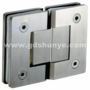 Stainless Steel Shower Door Hinge for Glass Door (SH-0341) pictures & photos
