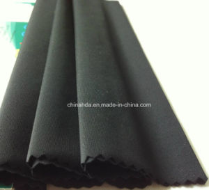 Bright Black Nylon Fabric Used for Swimwear (HD1202264) pictures & photos