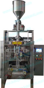Automatic Plastic Bag Filling Sealing Machine for Cream Products (VFFS-300A) pictures & photos