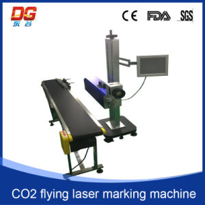 Hot Selling CO2 Flying Laser Marking Machine CNC Engraving pictures & photos