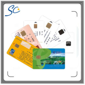 Standard Size RFID Contact IC Smart Card with FM4442 Chip pictures & photos
