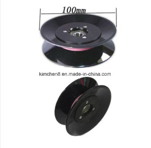 Textile Plastic Ceramic Coil Winding Flanged Conbined Wire Guide Pulley (HCR010) Od 100mm pictures & photos