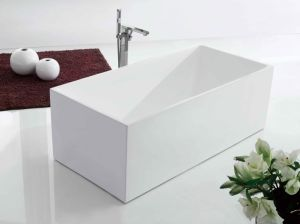 Modern Design Acrylic Bathtub By1827-1500 pictures & photos